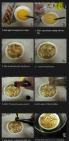 Steamed egg with mushrooms by greenzaku