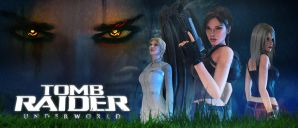 Tomb Raider Underworld Long Poster by Shyngyskhan