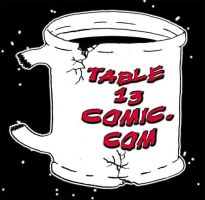 Table 13 Comic's Logo by StickWilde