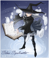 Adopt - Silver Spellcaster (open) by Ai-Bee