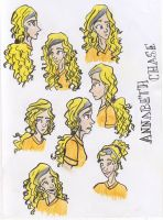 The Many Faces Of Annabeth by kooeya112