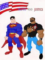 Truth and Justice by MAVERICKissue1