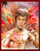 Bruce Lee by G-tale
