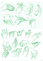 The 50 foot, 50 hand challenge: 50/50 hand by kaisaki1342