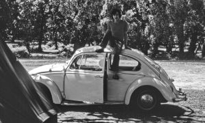 Me and my first car 1976 by UdoChristmann