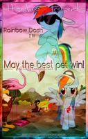 MLP : May the best pet win! - Movie Poster by pims1978