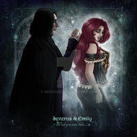 Emily+Severus-Wish you where here! by RedPassion
