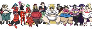 Gen Six Ladies Weight Gain by ExtraBagageClaim