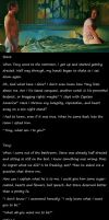 Stony Thoughts-#6 What am I to You by Scifiangel