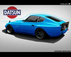Am Datsun Fairlady Z by adrianmolina