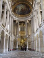 Palace of Versailles - palace chapel by kwizar