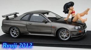 Tamiya R34 GT-R 03 by celsoryuji