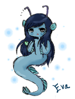 Chibi 1. There's a Fishie in mah hair! by Ask-PrinceBoutique