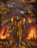 The return of Samus by kritken
