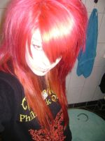 my red hair :D by bioacidzombie