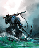 Hunter of the Seas by ANGROC
