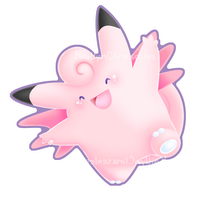 Clefable by Clinkorz