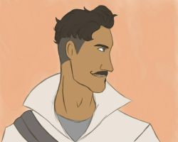 Dorian Drawing by SoulKibano