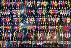 Super Sentai 37 by jm511