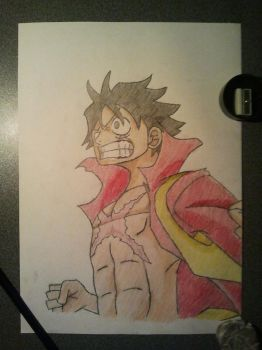 Luffy from OnePiece by D4vYz