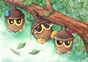 ACEO: Three brothers by kinouchi
