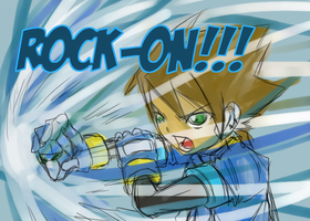 Vent - ROCK-ON Megaman ZX by animaniac212