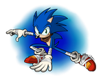 Sonic the Hedgehog (Boom) by NextGrandcross