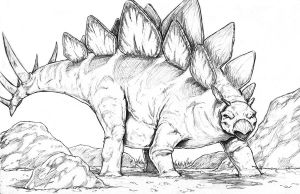 Stegosaurus by WiL-Woods
