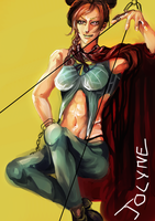 Line of Fate - Jolyne by mudgrave