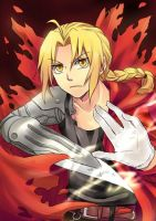 Edward Elric by Tenryuushi