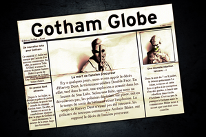 Gotham Globe #1 by Crazy-Sweet