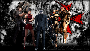 RE4 Mercenaries by Iamnoobsaibot