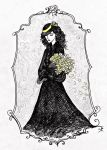 She Was Carrying Yellow Flowers by La-Chapeliere-Folle