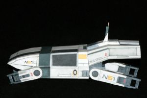 Mass Effect 2 shuttle buid 2 by ThunderChildFTC