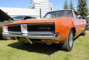 Metallic Orange Charger by KyleAndTheClassics