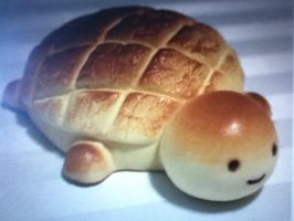 Turtle Bread by waterbluewings