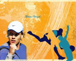 Tomas Berdych Wallpaper by Hututa