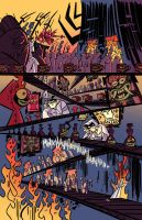 Samurai Jack issue 5 pg5 by dcjosh