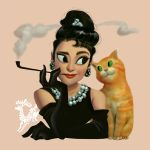 Holly Golightly by DavidAdhinaryaLojaya