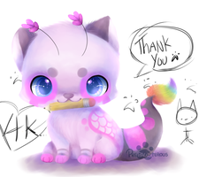 :Thank You(4k+ Watchers): by PrePAWSterous