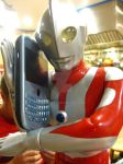 ultraman answers the phone by EatToast