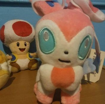 toad and sylveon by bijou11