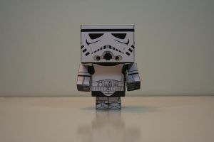 Stormtrooper (Front) by Mikhaelo-Johanio