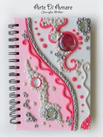 Pretty Pink Journal by ArteDiAmore