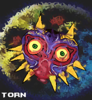 Majora Mask by TornDragon