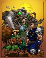 Battle Chasers by ConfuciusRetaliation