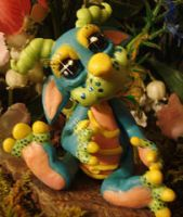 polymer clay wild thing tootle by crazylittlecritters
