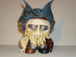 Davy Jones Munny by MallorySmallory