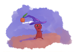 Spooky Witch Pikmin! by tacoroach