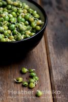Parsley and Sprouted Pea Saute by hpdphotos